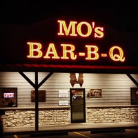 Photo taken at Mo's BBQ by Carlos R. on 1/6/2014