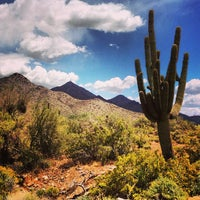 Photo taken at Sonoran Preserve - Sonoran Loop Trail by J. Todd R. on 4/21/2013