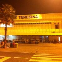 Photo taken at Aeroporto de Teresina / Senador Petrônio Portella (THE) by Guto S. on 2/2/2013