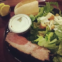 Photo taken at Buckhorn Grill by Amy P. on 1/8/2014