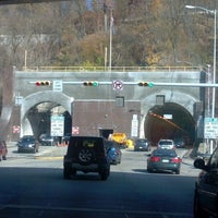 Photo taken at Liberty Tunnel by Amanda H. on 11/20/2012