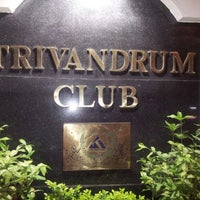 Photo taken at Trivandrum Club by Fazin Z. on 7/4/2013