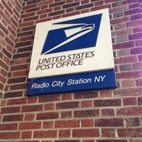 Photo taken at US Post Office - Radio City Station by Damon W. on 4/15/2013