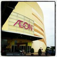 Photo taken at AEON Bandaraya Melaka Shopping Centre by Wan H. on 12/31/2012