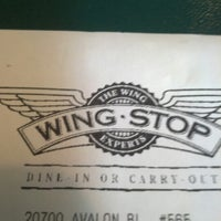 Photo taken at Wingstop by iNanee_g on 11/16/2012