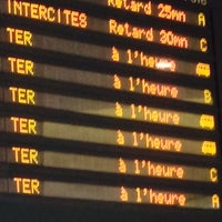 Photo taken at Gare SNCF de Roanne by Antoine R. on 11/10/2013