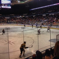 Photo taken at Worcester Sharks by Changing L. on 1/26/2014