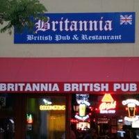Photo taken at The Britannia Pub by Arthur B. on 10/31/2012
