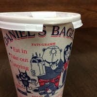 Photo taken at Daniel's Bagels by Alexis L. on 5/23/2014