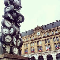 Photo taken at Paris Saint-Lazare Railway Station by Rapha D. on 5/20/2013