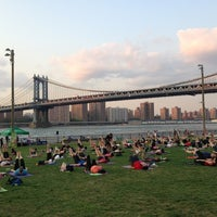 Photo taken at Brooklyn Bridge Park by Mauricio G. on 8/20/2013