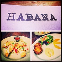 Photo taken at Habana by Catherine P. on 7/25/2013