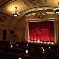 Photo taken at Electric Cinema by Nesma on 12/10/2012