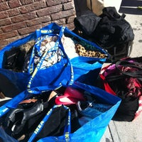 Photo taken at Buffalo Exchange by Claire on 10/13/2012