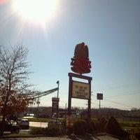Photo taken at Punxsutawney Phil by R Y. on 10/25/2012