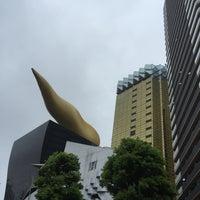 Photo taken at リバーピア吾妻橋 by Eizaburo on 8/29/2015