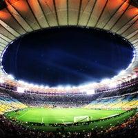Photo taken at Mário Filho (Maracanã) Stadium by Guilherme A. on 7/21/2013
