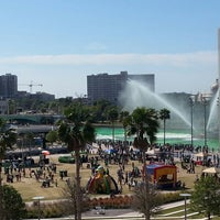 Photo taken at Curtis Hixon Waterfront Park by John F. on 3/16/2013