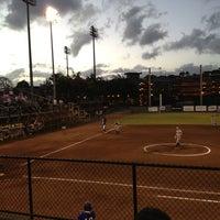 Photo taken at Rainbow Wahine Softball Stadium by s t. on 3/3/2013