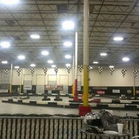 Photo taken at Fast Lap Indoor Kart Racing by Earl M. on 12/19/2012
