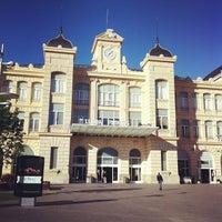 Photo taken at RENFE Estació Lleida - Pirineus by Kazuo N. on 5/25/2013