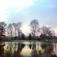 Photo taken at Lac Daumesnil by Nawal on 3/30/2013