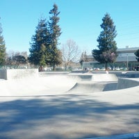 Photo taken at Sunnyvale Skate Park by beno h. on 2/21/2014