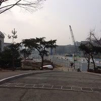 Photo taken at Yonsei University Student Union by Bomyi J. on 1/8/2014