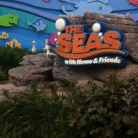 Photo taken at The Seas with Nemo & Friends by Christopher D. on 2/28/2013