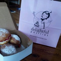 Photo taken at Delightful Pastries by Nicholle D. on 2/12/2013
