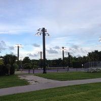 Photo taken at Crandon Tennis Center by John N. on 9/5/2013