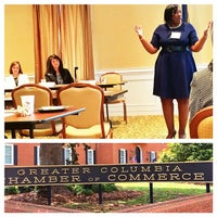 Photo taken at Greater Columbia Chamber of Commerce by Andrea S. on 5/12/2014