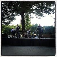 Photo taken at Grand Circus Park by Antonio R. on 7/18/2013