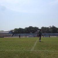 Photo taken at Stadion Wijayakusuma Cilacap by Fachrul P. on 10/21/2014