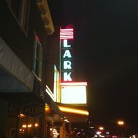 Photo taken at Lark Theater by Lenny M. on 10/21/2012