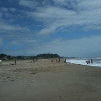 Photo taken at Praia dos Paraguaios by Laiana P. on 12/23/2012