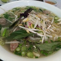 Photo taken at Pho Rua Vang (Golden Turtle) by Jeffrey L. on 2/23/2013