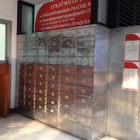 Photo taken at Rong Mueang Post Office by Rin Z. on 10/14/2013