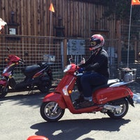 Photo taken at Susie's Mopeds by Ann C. on 8/22/2015