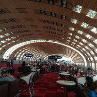 Photo taken at Paris Charles de Gaulle Airport (CDG) by Jack B. on 7/12/2013