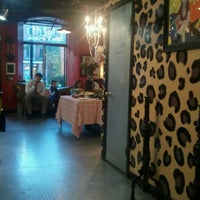 Photo taken at Liquid Hair Studios by Niki S. on 9/21/2012