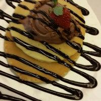 Photo taken at Mr. Pancake by Rina K. on 5/15/2015