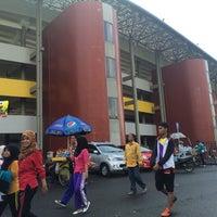 Photo taken at Jakabaring Sport City (JSC) by Ishak J. on 12/27/2015