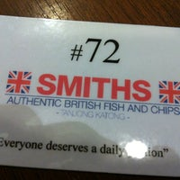 Photo taken at Smiths Authentic British Fish And Chips by Attica R. on 3/22/2013
