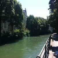 Photo taken at Bogenhausen by Micha on 7/6/2014
