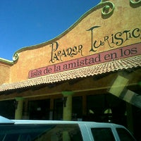 Photo taken at Parador Turístico San Pedro by Gerardo V. on 3/17/2013