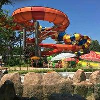 Photo taken at Aquapark Aquamania by Andreea G. on 7/15/2016