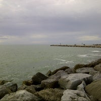 Photo taken at South Jetty / Humphris Park by TK .. on 12/24/2012