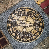 Photo taken at The Freedom Trail by Kevin N. on 5/12/2013