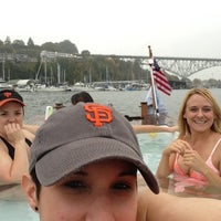 Photo taken at Hot Tub Boats by Alicia R. on 10/16/2012